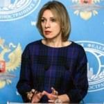 Zaharova: ABD'nin hataları felaketlere yol açıyor