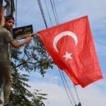 Türkiye'yi böyle desteklediler! Duygulandıran görüntü