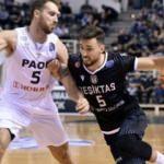 Beşiktaş Yunanistan'da kazandı