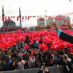 Cumhurbaşkanı Erdoğan'a Kayseri'de sevgi seli