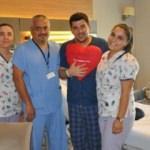 Göğüs ağrısıyla gittiği hastanede kalp krizi geçirdiği anlaşıldı