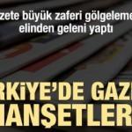 Günün gazete manşetleri (18 Ekim Cuma)