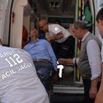 HDP önündeki eylemde gözü yaşlı baba kızına seslenirken fenalaştı
