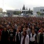 Mehmetçiğe 2 bin 200 öğrenciden İstiklal Marşı ile moral!
