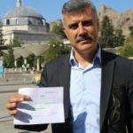 Muhtar, 1 aylık maaşını Mehmetçiğe bağışladı
