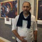 Polis Başmüfettişi ressam Ahmet Sula, 50. sergisini Budapeşte'de açtı