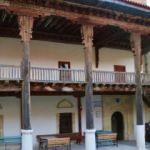 Osmanlı'nın 8 asırlık Dengere Cami ahşap süslemeleriyle dikkat çekiyor
