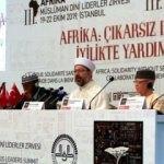 Ali Erbaş: Tüm Müslüman varlığı için küresel bir tehdit