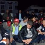 CHP'li belediyede işçiler greve gitti