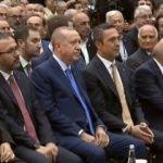 Erdoğan, Fenerbahçe kongresinde konuştu