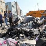 İzmir'in göbeğinde çöp dağları!