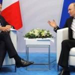 Putin ve Macron Suriye'nin kuzeydoğusunu görüştü