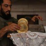 Resulayn'da SMO askerleri Ortodoks Kilise'sinin güvenliğini sağlıyor