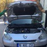 Satın aldığı aracın kaputunu açınca hayatının şokunu yaşadı