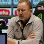 Sergen Yalçın: Her maçta puan almak istiyoruz