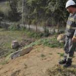 Elektrik hattı kazısında bulundu! Hemen korumaya alındı