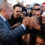 Başkan Erdoğan sınırda vatandaşlarla buluştu