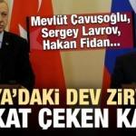 Dev zirvede dikkat çeken kare! Çavuşoğlu, Lavrov, Fidan...