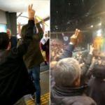 HDP kongresinde skandal! Teröristler için ant içtiler