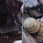 İkiyaka dağlarında PKK'ya ait mühimmat ele geçirildi