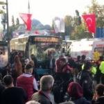 İstanbul'da otobüs durağa daldı! Gerçek şoke etti!