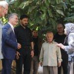 Rasulayn'da Türkmen Meclisi üyeleri zarar gören aileleri ziyaret etti