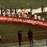 Samsunspor'dan pankart açıklaması