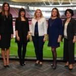 Süper Lig'in kadın yöneticileri bir araya geldi