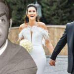 Yeşilçam'ın yıldızlarından Ayhan Işık'ın torunu Emre Levent evlendi!