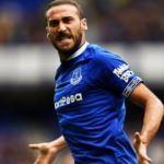 Everton taraftarlarının Cenk çılgınlığı!