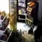 Alkol satışı cinayeti güvenlik kamerasında!
