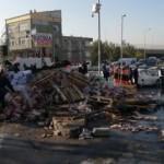 Başakşehir'de freni boşalan kamyon dehşet saçtı