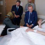 Başkan Erdoğan, Şevket Kazan'ı ziyaret etti