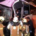 Beylikdüzü'nde feci kaza: 3 polis ağır yaralı