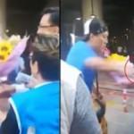 Hong Kong'da milletvekiline bıçaklı saldırı anı