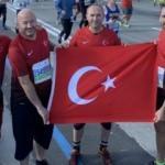 New York Maratonu'nda Türk bayrağı dalgalandı