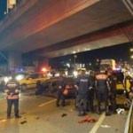 Trabzon'da feci kaza: Ölü ve yaralılar var