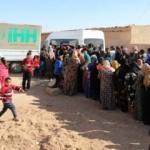 İHH'dan Tel Abyad ve Rasulayn'da 2 bin aileye yardım