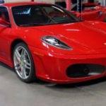 Ferrari'nin F 430 modeli yarı fiyatına satışa çıkarıldı