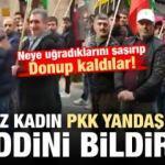 Fransız kadın PKK/YPG yandaşlarına hadinni bildirdi!