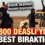 MSB'den son dakika açıklaması: PKK/YPG 800 DEAŞ'lıyı serbest bıraktı