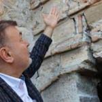 4 bin yıllık kalede korkutan görüntü