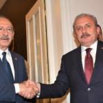 TBMM Başkanı Şentop, CHP Genel Başkanı Kılıçdaroğlu'nu ziyaret etti
