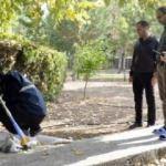 Cami bahçesinde gömülü halde bulundu! Hemen incelemeye alındı