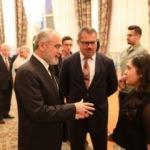 Yalçın Topçu Azerbaycan BE devlet bayrağı günü kutlamasına katıldı