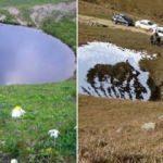 Gümüşhane'de yok edilen 'Dipsiz Göl' doğal sit alanı ilan edilecek