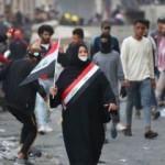 Irak'taki protestolarda kanlı gece: 7 ölü