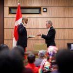 Kanada'da hükümet kuruldu... Göreve Kuran'a yemin ederek başladı