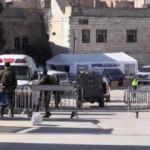 Yahudiler Sare Bayramı nedeniyle Harem-i İbrahim Camii'ne baskın yaptı