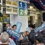 Lübnan'da akaryakıt istasyonlarında izdiham!